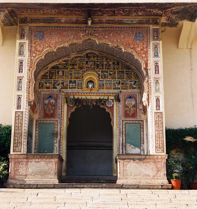 Тадж-Махал в миниатюре - Samode Palace 25453