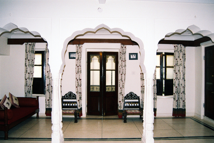 Тадж-Махал в миниатюре - Samode Palace 87401