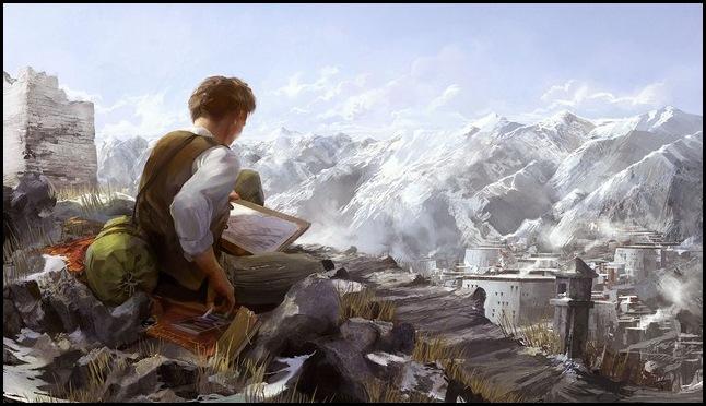 Финский художник Tuomas Korpi (часть 2)