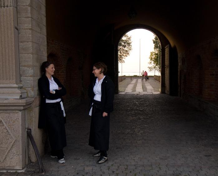 Замок Вадстена (Vadstena) и монастырь Святой Биргитты 98405