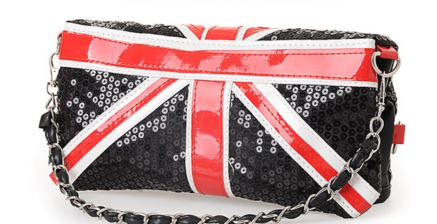 вещи с британским флагом