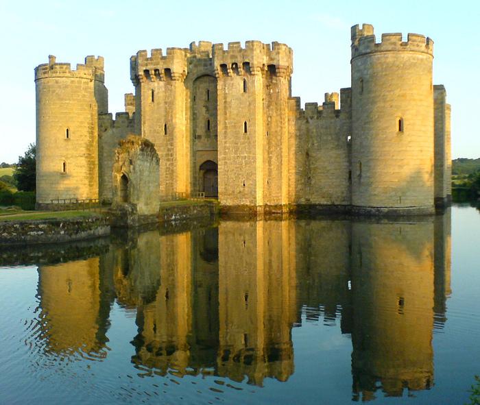 Замок Бодиам (Bodiam) - Графство Сассекс 48014