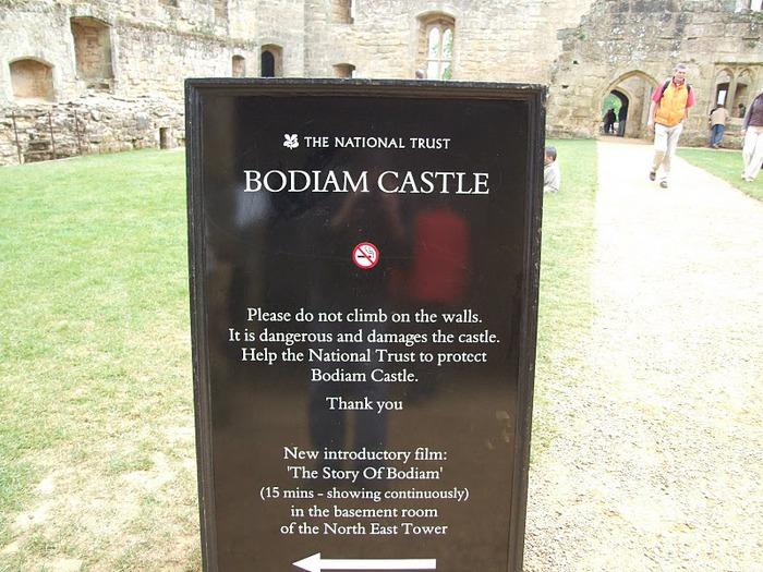 Замок Бодиам (Bodiam) - Графство Сассекс 45126