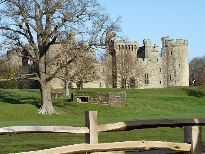 Замок Бодиам (Bodiam) - Графство Сассекс 29379