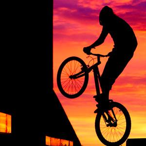 Экстрим велосипед