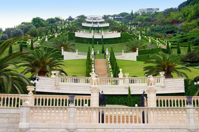 Хайфа, Бахайские сады 48846