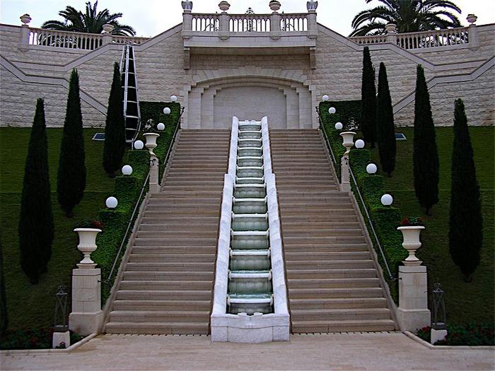 Хайфа, Бахайские сады 16999
