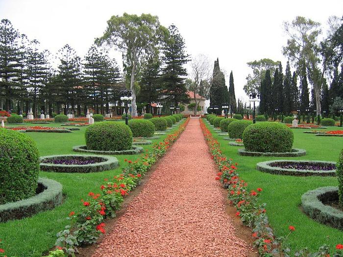 Хайфа, Бахайские сады 87191