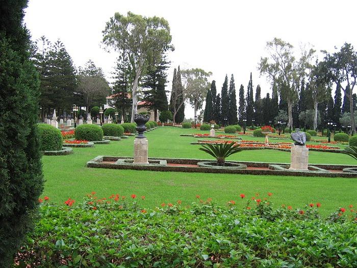 Хайфа, Бахайские сады 78123