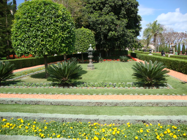 Хайфа, Бахайские сады 43470