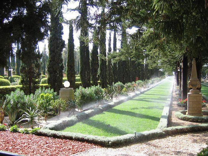 Хайфа, Бахайские сады 50363