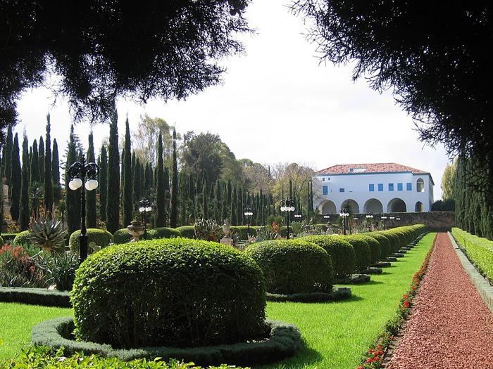 Хайфа, Бахайские сады 34726