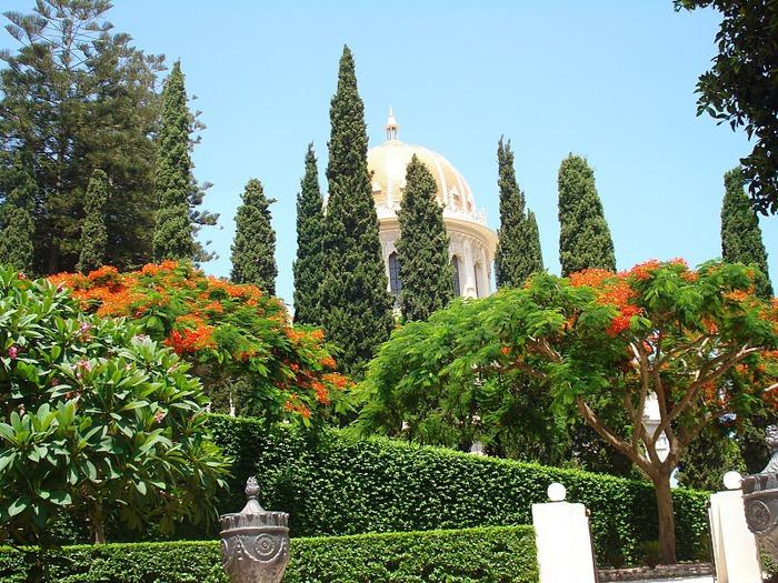 Хайфа, Бахайские сады 38814