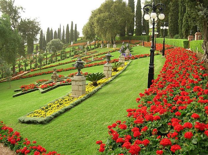 Хайфа, Бахайские сады 26736