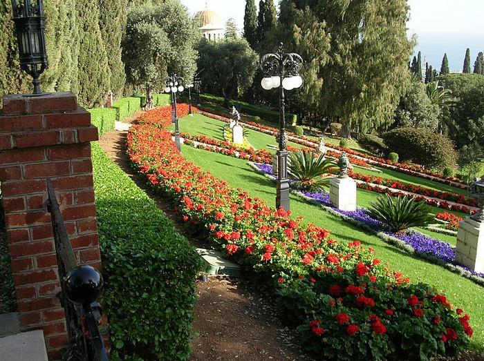 Хайфа, Бахайские сады 58272