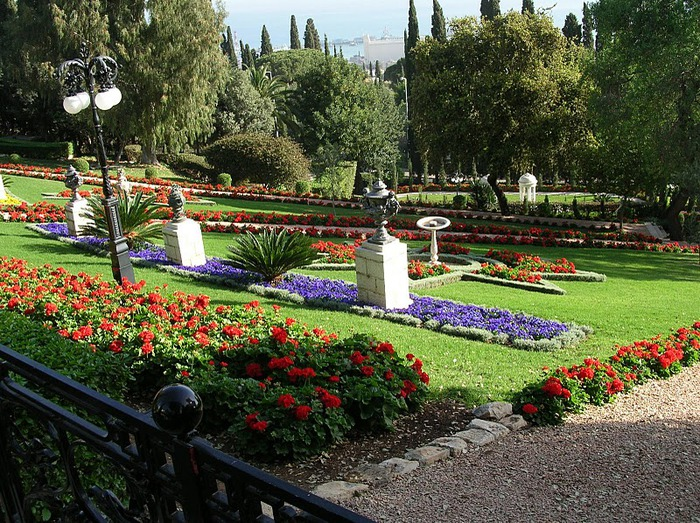 Хайфа, Бахайские сады 21090