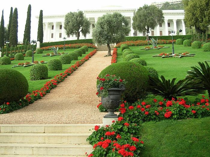 Хайфа, Бахайские сады 61874