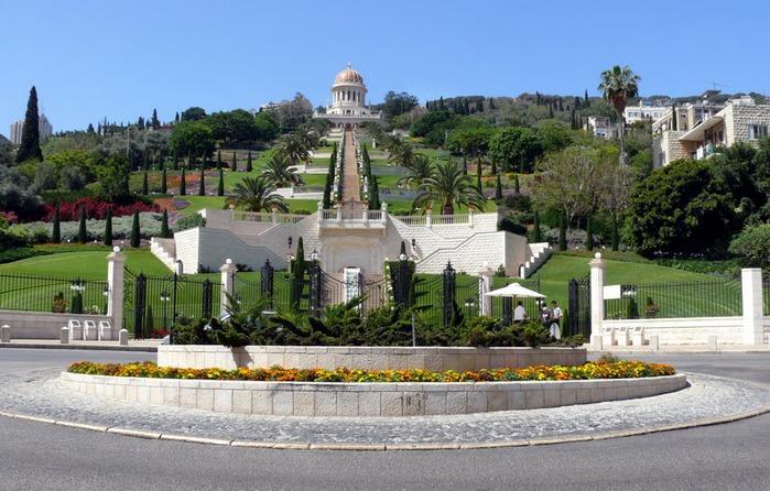 Хайфа, Бахайские сады 64226