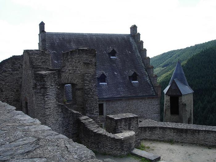 Le chateau de Bourscheid - ЗАМОК Буршейд 81245