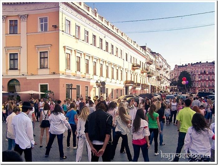День памяти Майкла Джексона в Одессе