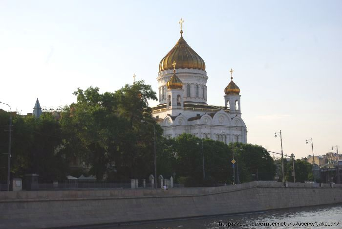 Москва. Прогулка по реке