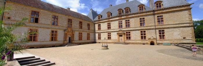 Замок де Корматэн -Chateau de Cormatin 30087
