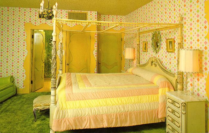 Отель Madonna Inn - Фантазии без границ 73631