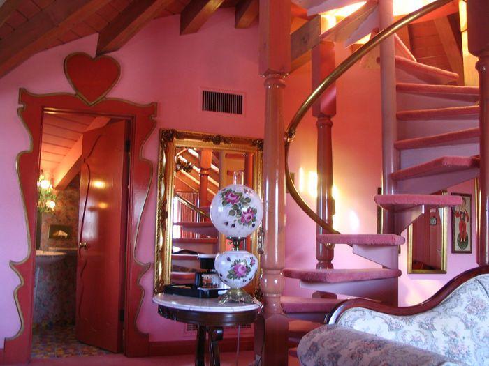 Отель Madonna Inn - Фантазии без границ 13305