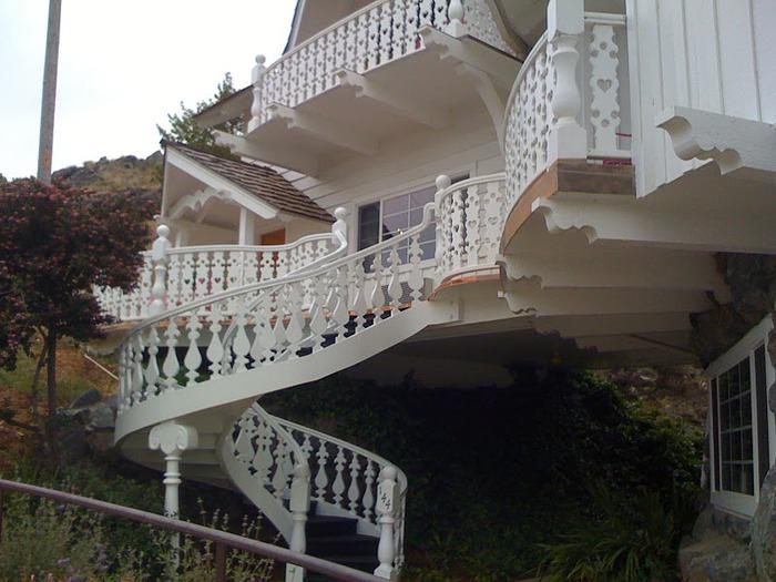 Отель Madonna Inn - Фантазии без границ 69567