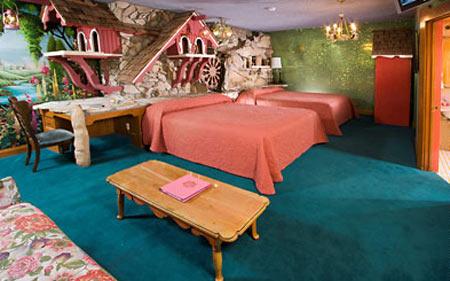 Отель Madonna Inn - Фантазии без границ 56198
