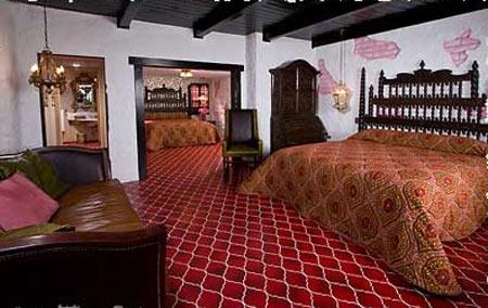 Отель Madonna Inn - Фантазии без границ 19810
