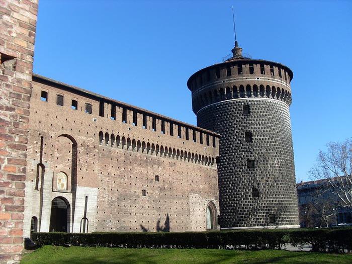 Замок Сфорца (Castello Sforzesco) 28245
