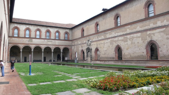 Замок Сфорца (Castello Sforzesco) 22702