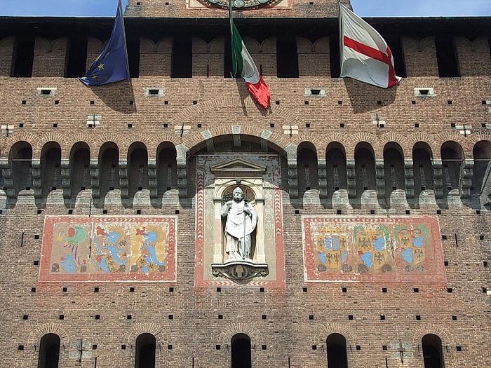 Замок Сфорца (Castello Sforzesco) 94957