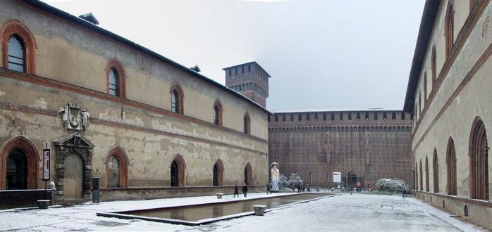 Замок Сфорца (Castello Sforzesco) 41515