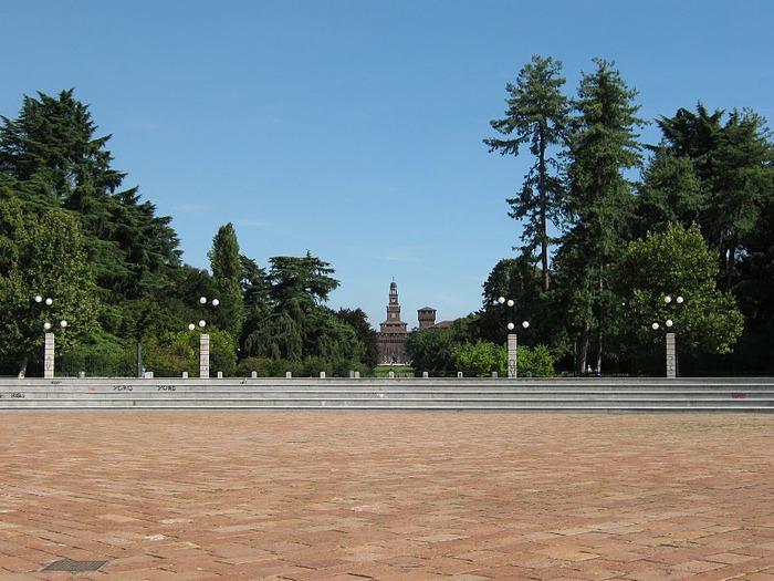 Замок Сфорца (Castello Sforzesco) 40495