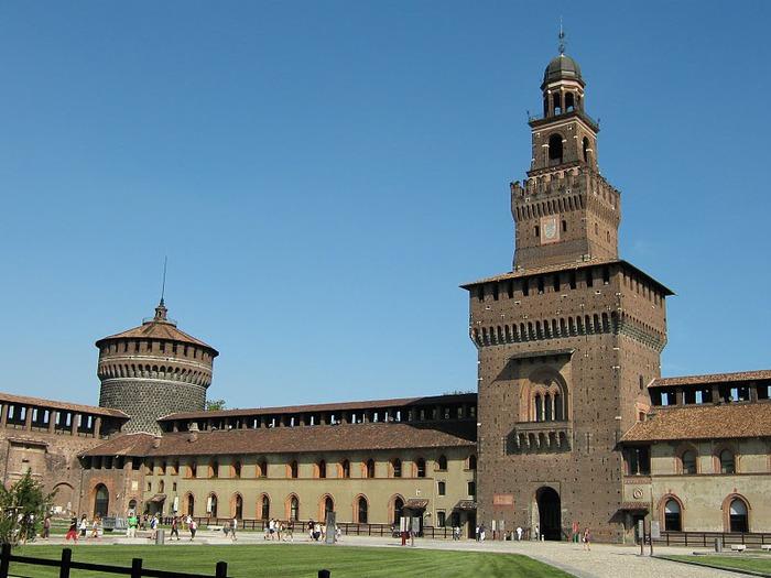 Замок Сфорца (Castello Sforzesco) 99968