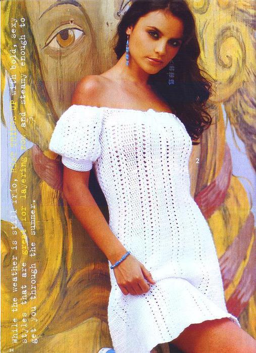 """белое платье с рукавом"""""""
