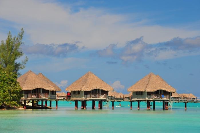 Остров Бора-Бора - жемчужина Тихого океана с перламутровой лагуной 55952