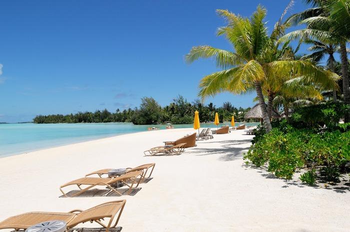 Остров Бора-Бора - жемчужина Тихого океана с перламутровой лагуной 14064