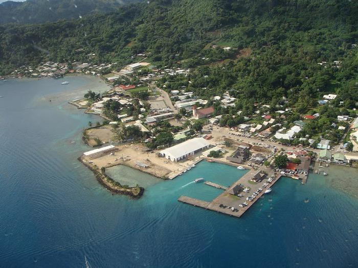 Остров Бора-Бора - жемчужина Тихого океана с перламутровой лагуной 36936