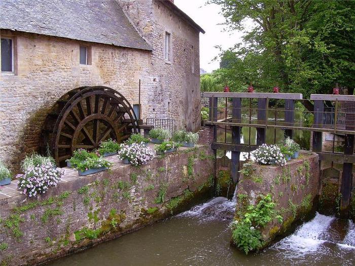 Водяные мельницы - прошлое и
