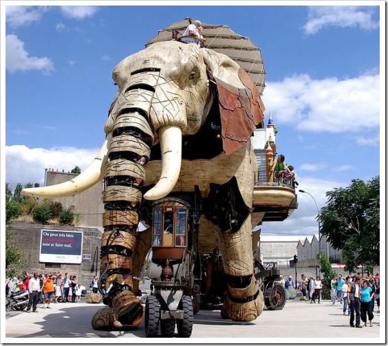 «Великий Слон» – фантастическая машина Острова Нанта