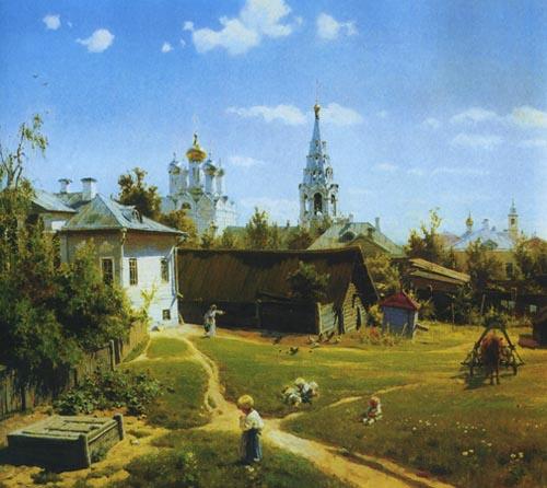 Московский дворик (1878)