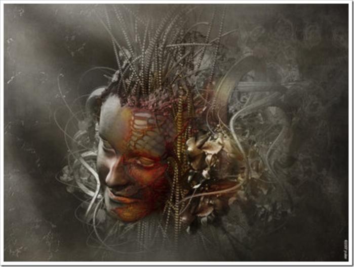 Демонические девы художника Jean-Marc Rulier