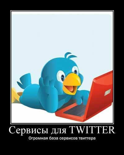Сервисы для twitter