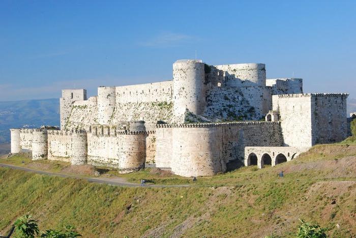 Крепость Крак-де-Шевалье или Крак де л'Оспиталь 56861