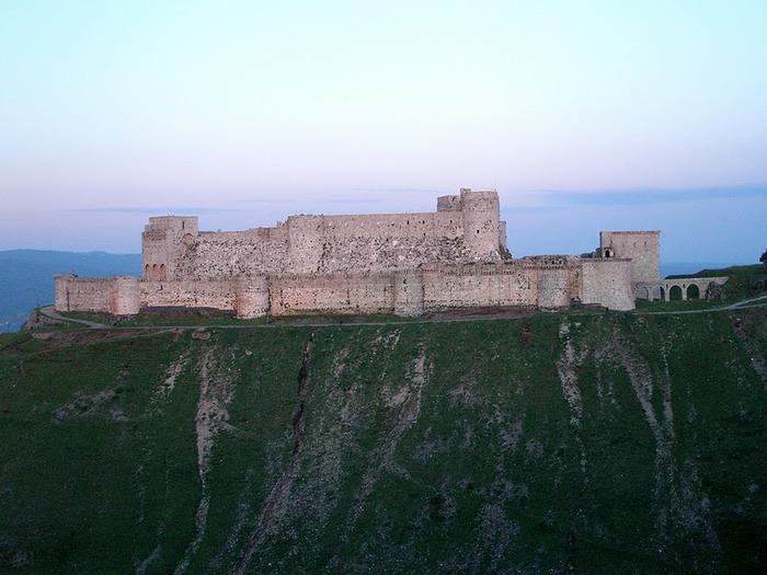 Крепость Крак-де-Шевалье или Крак де л'Оспиталь 50711