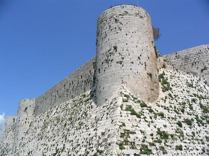 Крепость Крак-де-Шевалье или Крак де л'Оспиталь 79055