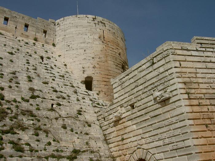 Крепость Крак-де-Шевалье или Крак де л'Оспиталь 82063